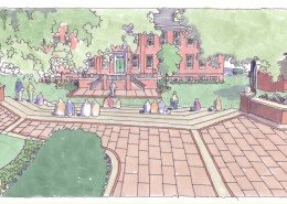 Allegheny College Landscape Master Plan Amphitheatre