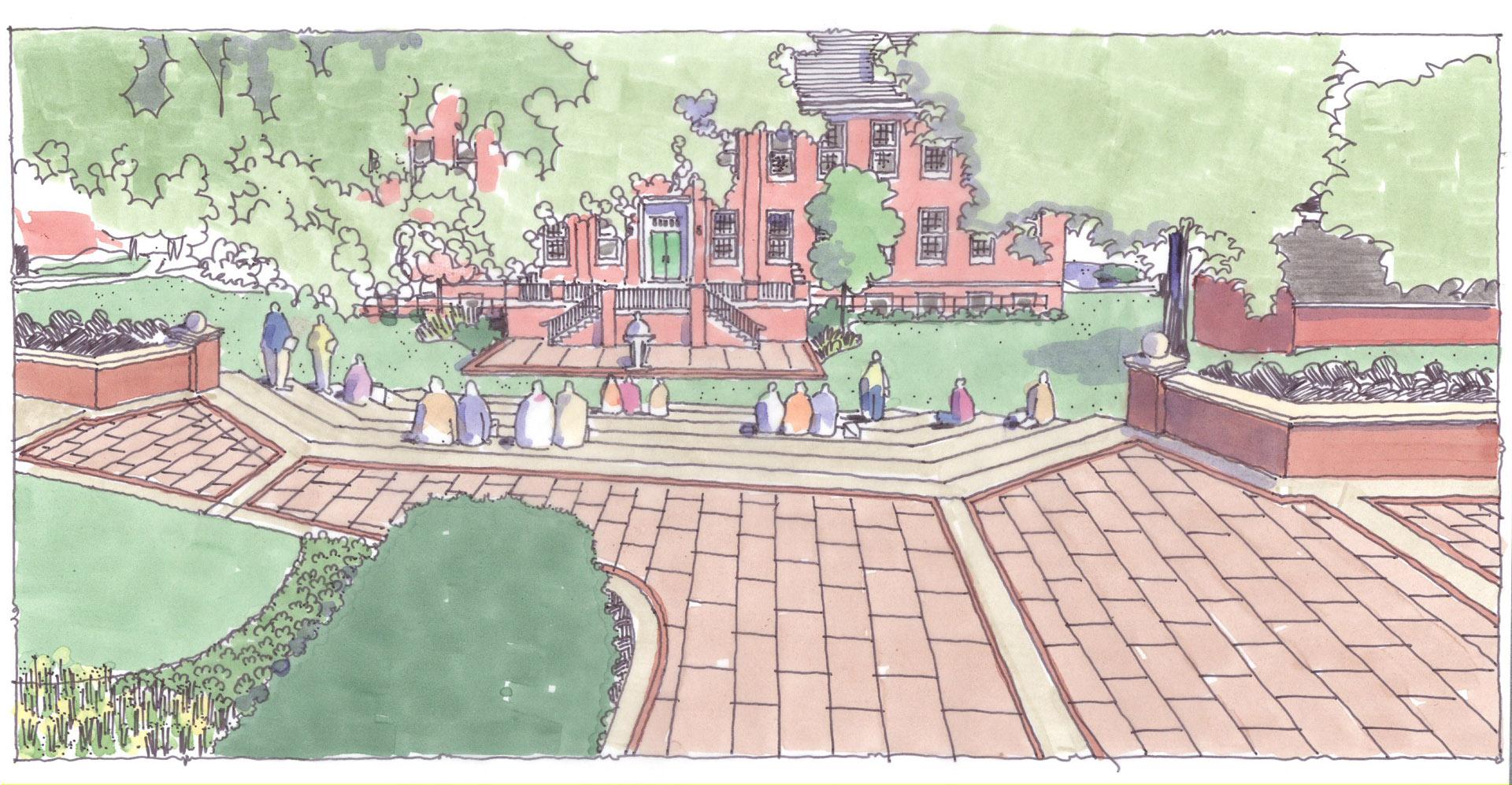 Allegheny College Landscape Master Plan - Derck & Edson