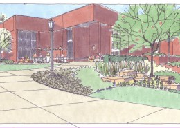 Allegheny College Landscape Master Plan Library
