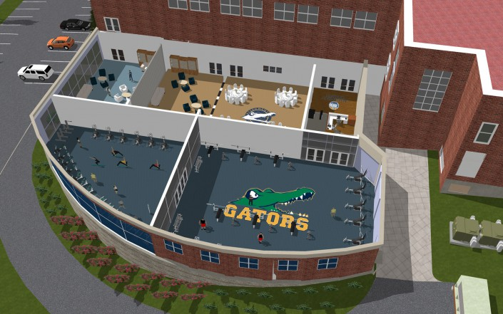 Allegheny College Sports Wise Center Addition