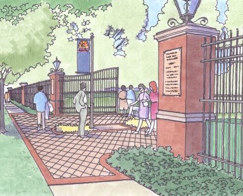 Allentown Fair Gate