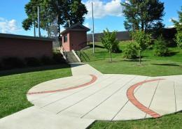 Alvernia Baseball Sidewalk