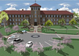 Alvernia Francis Hall Entrance - Scene 2