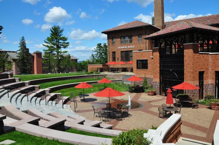 Alvernia Francis Hall Plaza