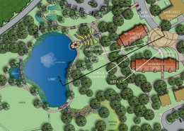 Birmingham-Southern College Lakeview Residences Plan