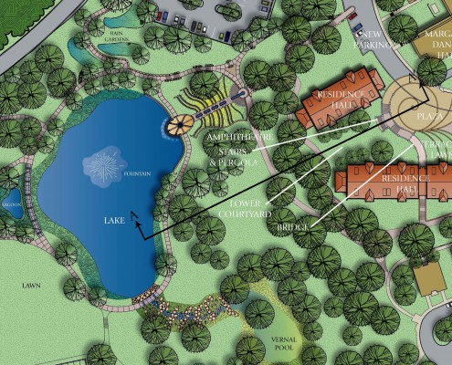 Birmingham-Southern College Lakeview Residences Plan