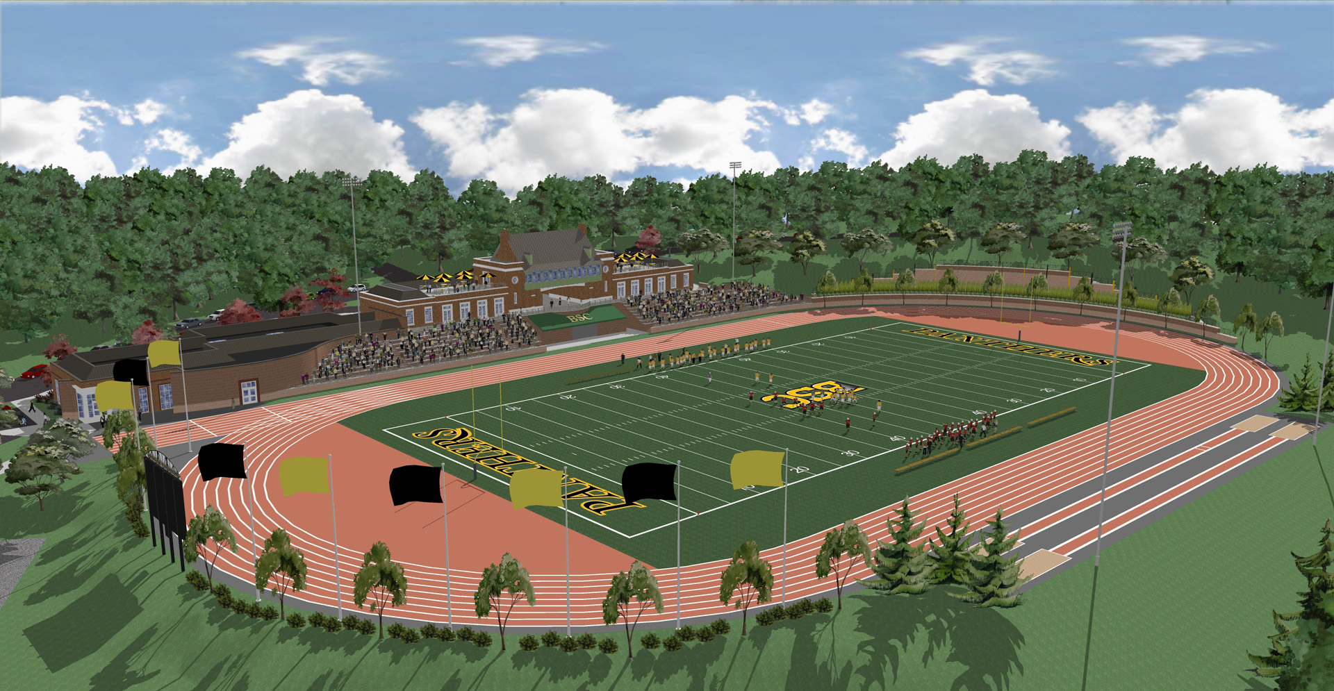 BSC Panther Stadium Rendering