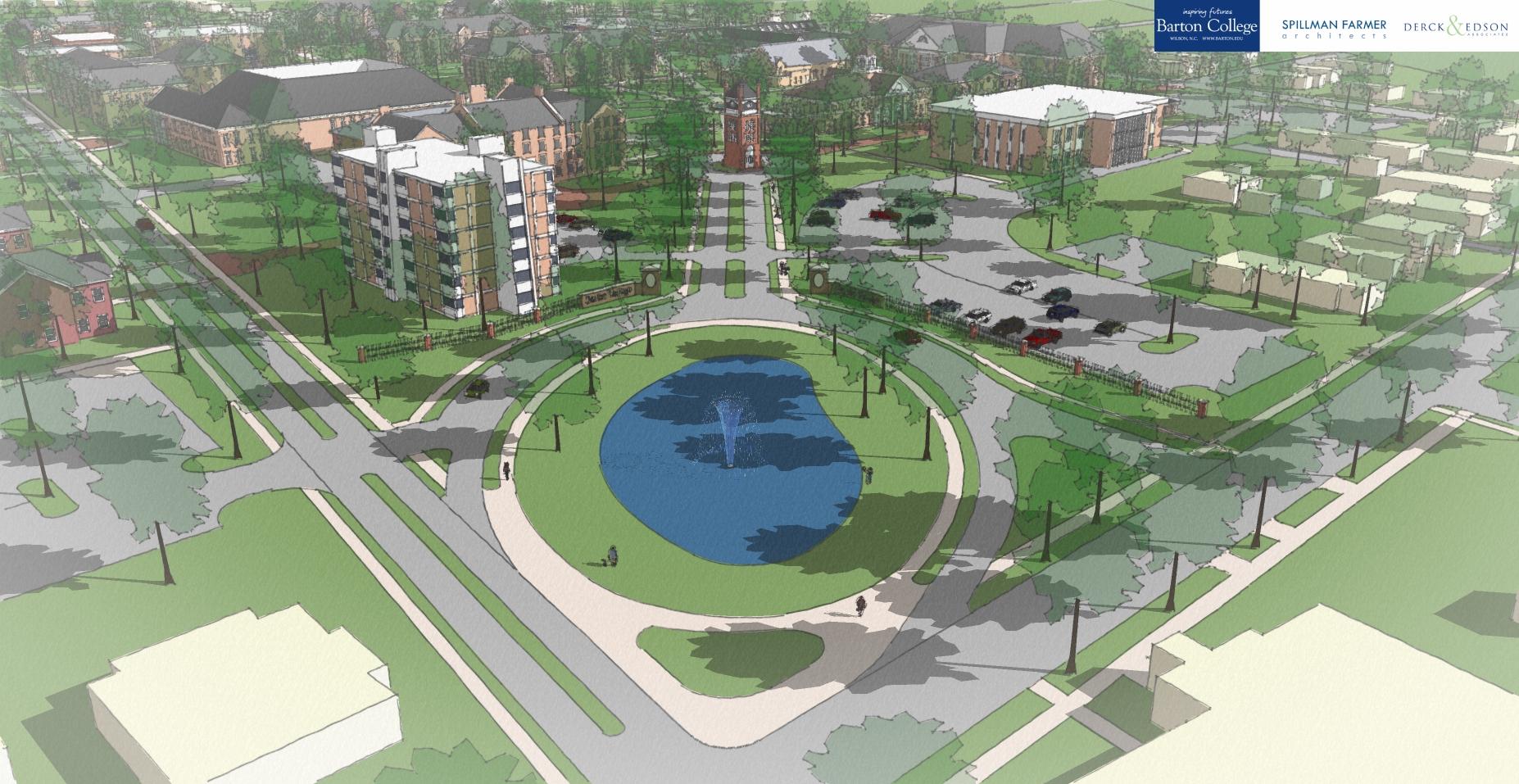 Barton College Master Plan - Scene 1