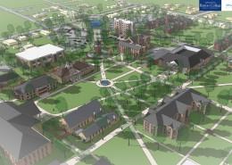 Barton College Master Plan - Scene 2