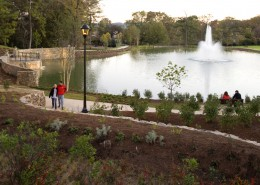 Birmingham-Southern College Urban Environmental Park Fountain