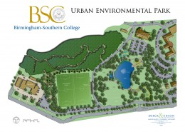 Birmingham-Southern College Urban Environmental Park Plan