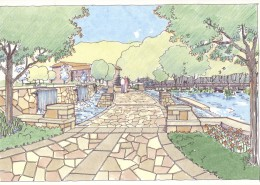 Birmingham-Southern College Urban Environmental Park Sketch