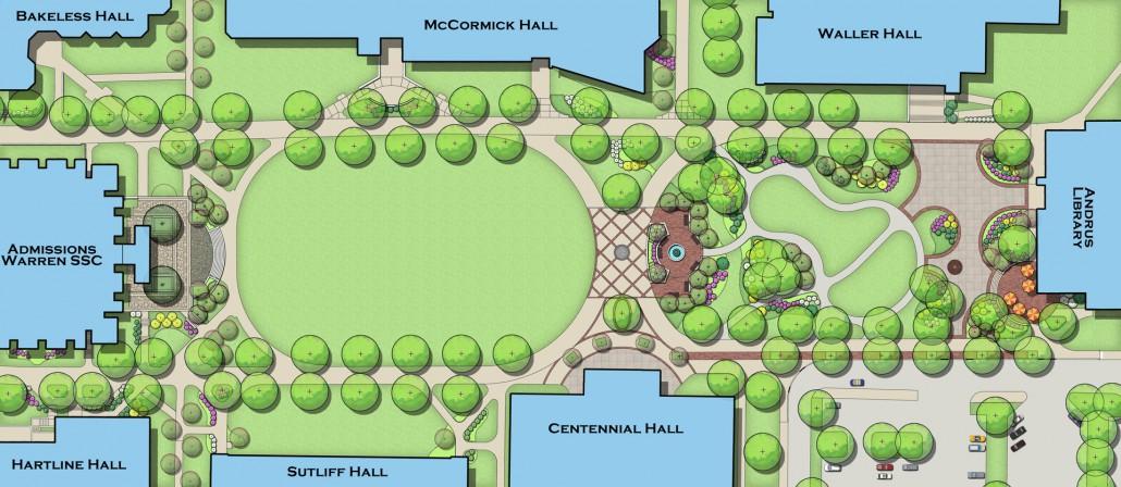 Bloomsburg University Academic Quad Derck Amp Edson