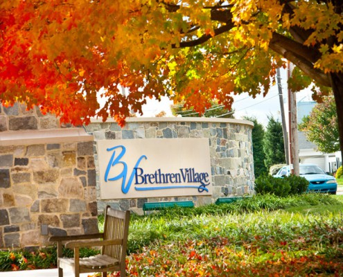 Brethren Village Retirement Community Sign