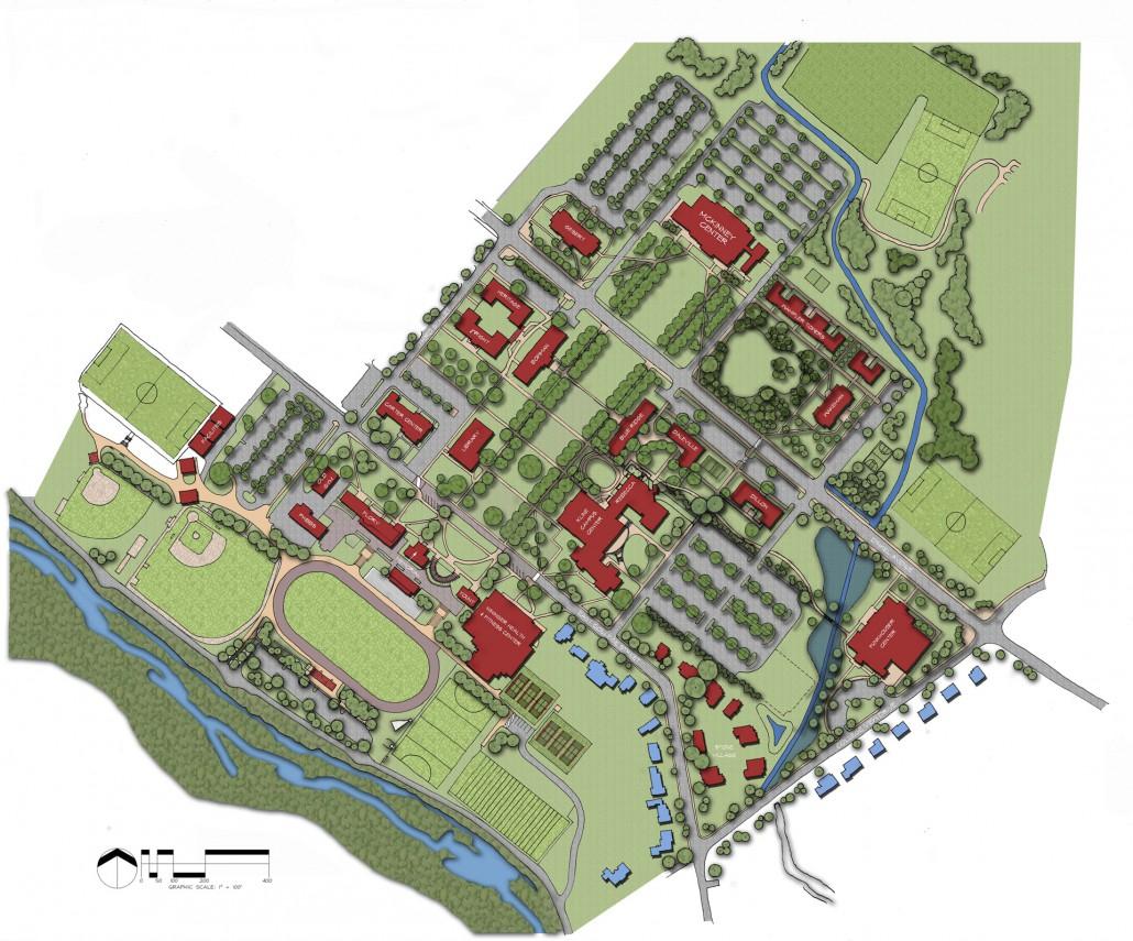 Bridgewater College Landscape Master Plan Derck Edson
