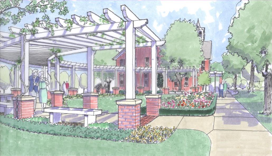 Bridgewater college landscape master plan derck edson for Garden design university