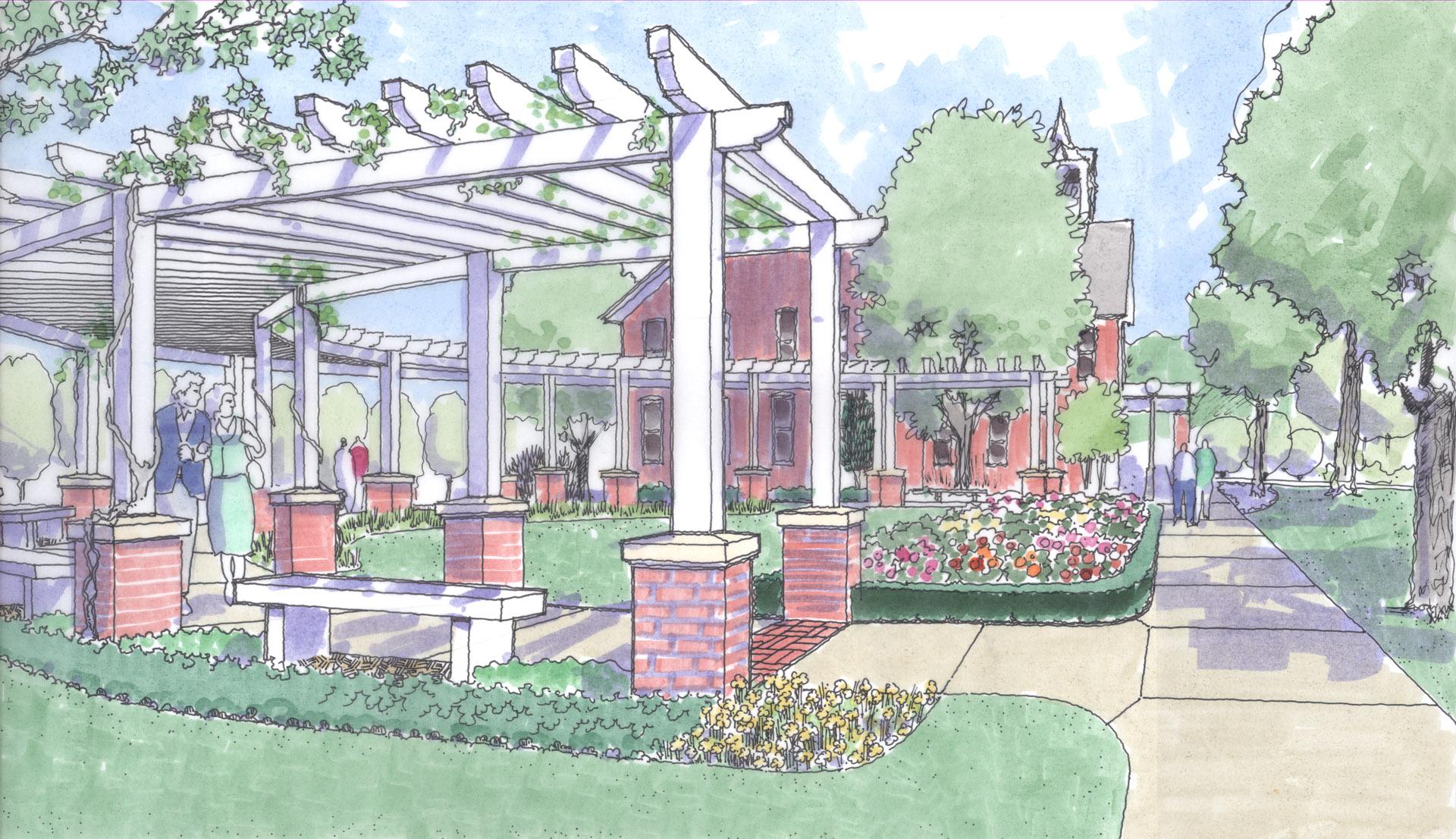 Bridgewater College Landscape Master Plan Arbor
