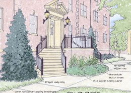 Bridgewater College Landscape Master Plan Dillon Entrance