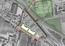 College Row Mixed Use Development Plan