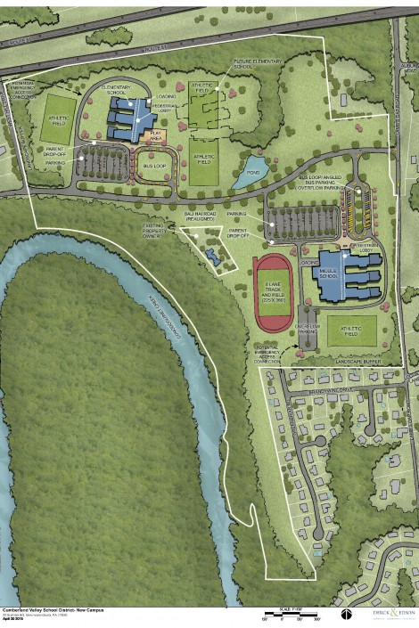 Cumberland Valley SD Campus Plan