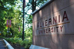 Alvernia University has been intentional about making all campus entry points as ordered and welcoming as possible.