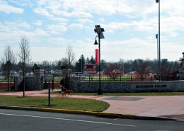 Dickinson College Biddle Field Gate