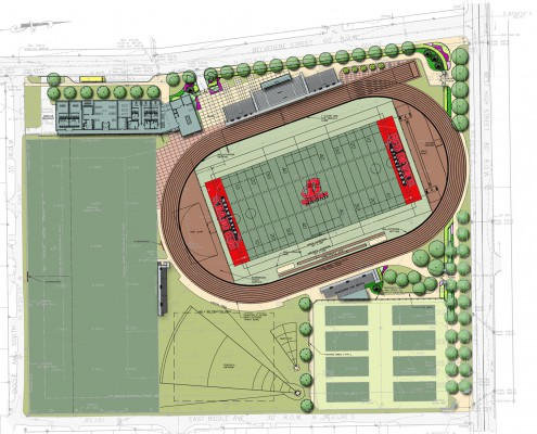 Dickinson College Biddle Field Plan