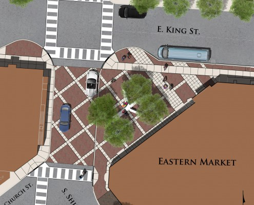 Eastern Market Plaza Plan