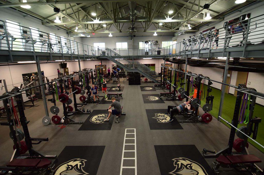 Eastern University Fitness Derck Amp Edson