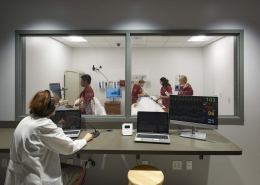 Eastern University Simulated Nursing Lab