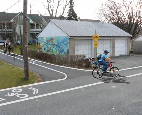 Elizabethtown Borough Bike Trail Alley After