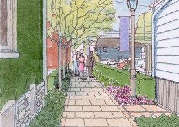 Elizabethtown Borough Master Plan Pedestrian Alley