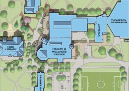 Elizabethtown College Brossman Commons Plan