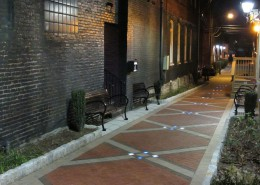 Elizabethtown Rose Alley at Night