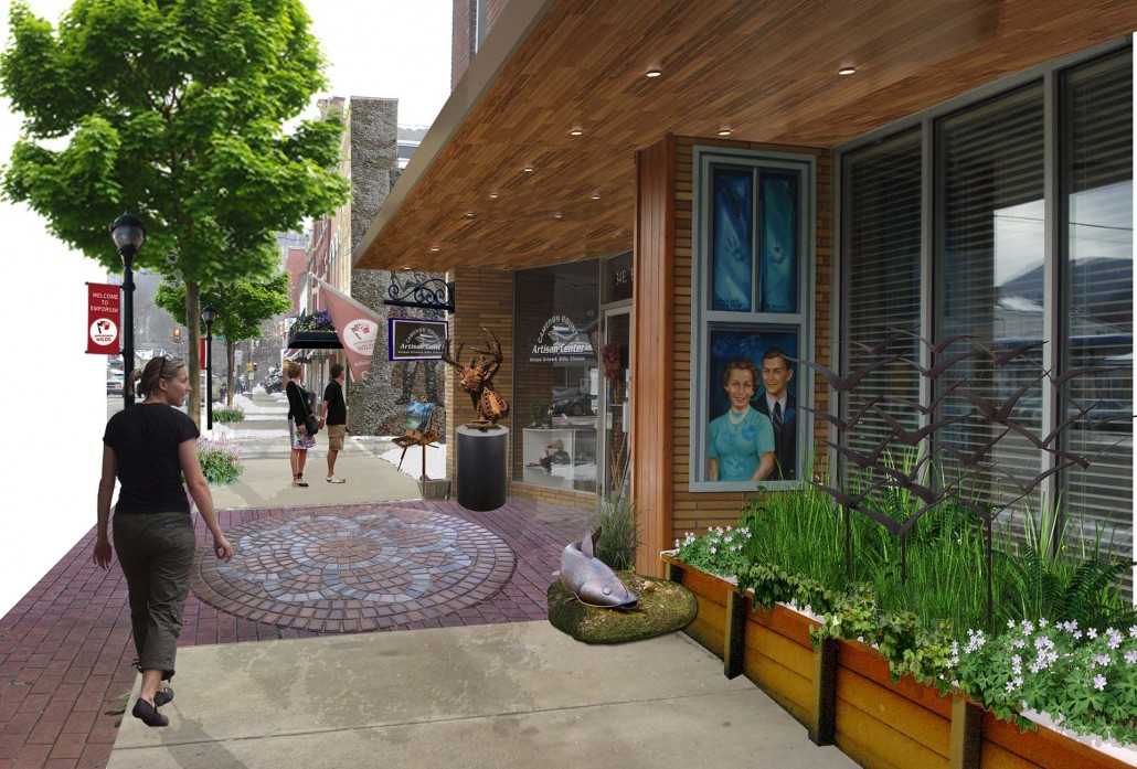 Emporium Borough Artisan Center - After