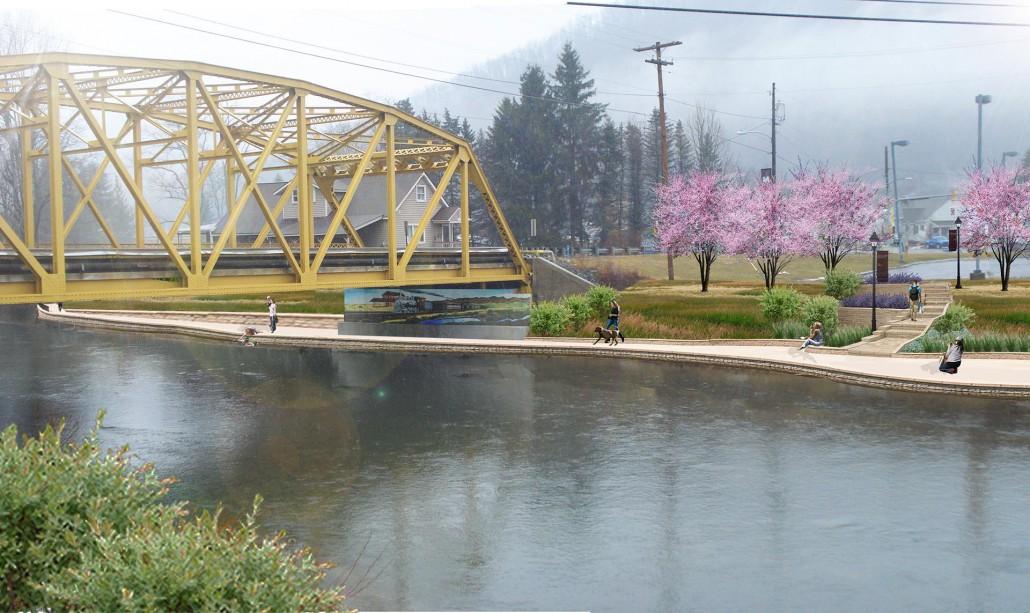 Emporium Borough Bridge - After