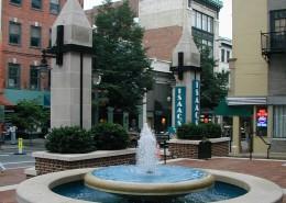 Fulton Financial Plaza Fountain