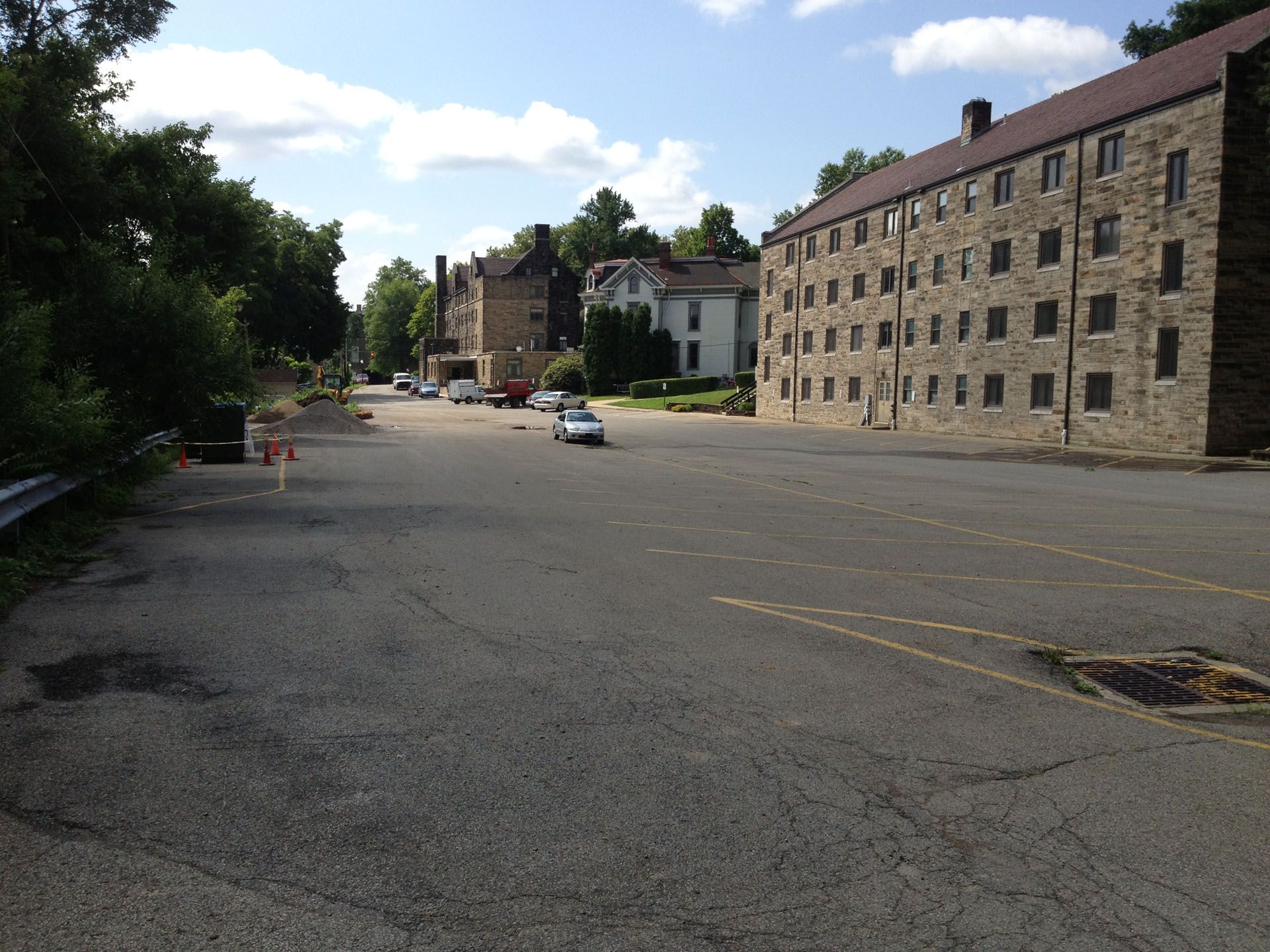 Geneva College Parking Before