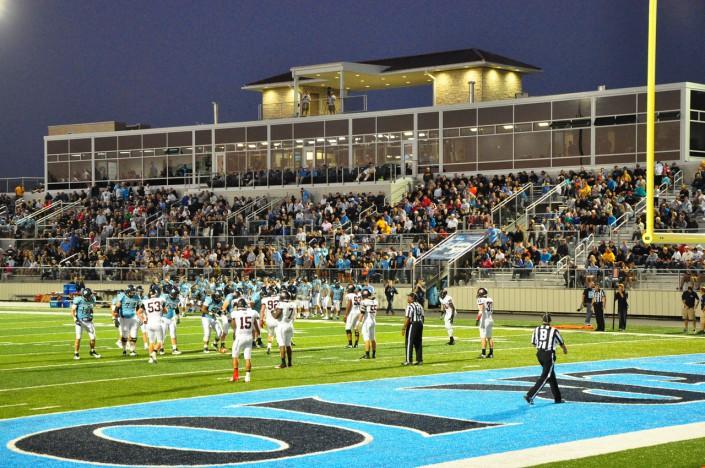 Harms-Eischeid Stadium at Night