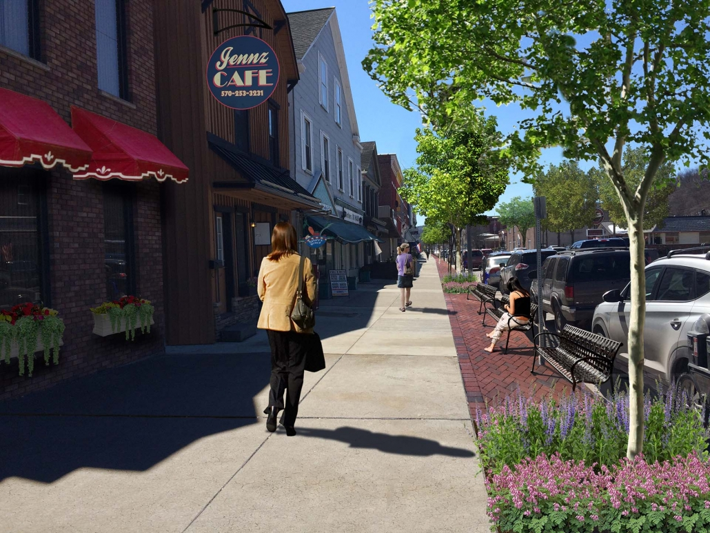 Honesdale Borough Downtown Planning