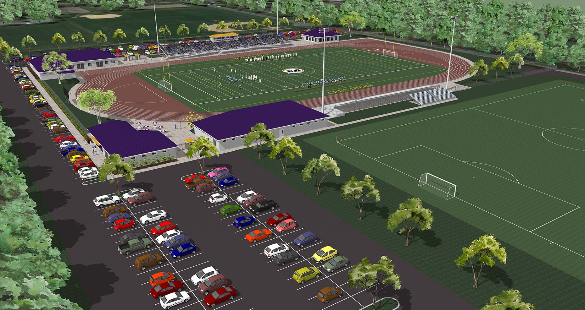 Lancaster Catholic High School Stadium
