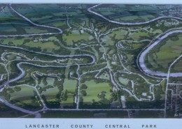 Lancaster County Central Park Aerial Rendering
