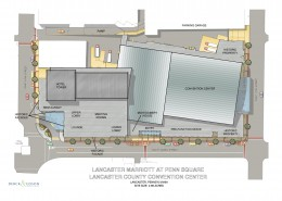 Lancaster Marriott Hotel and Convention Center Plan