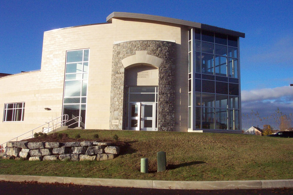 Lancaster Mennonite School Rutt Academic Center Derck
