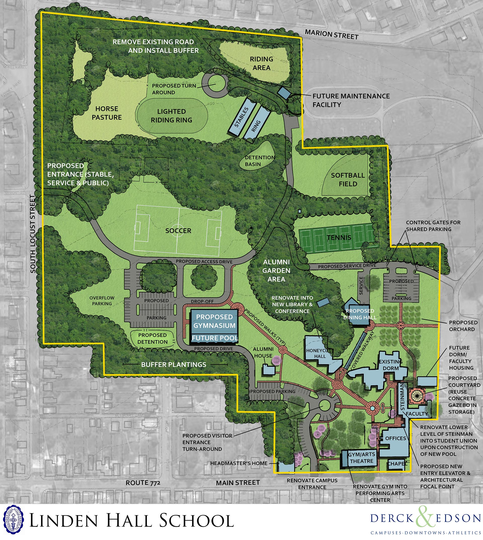 Linden Hall Master Plan