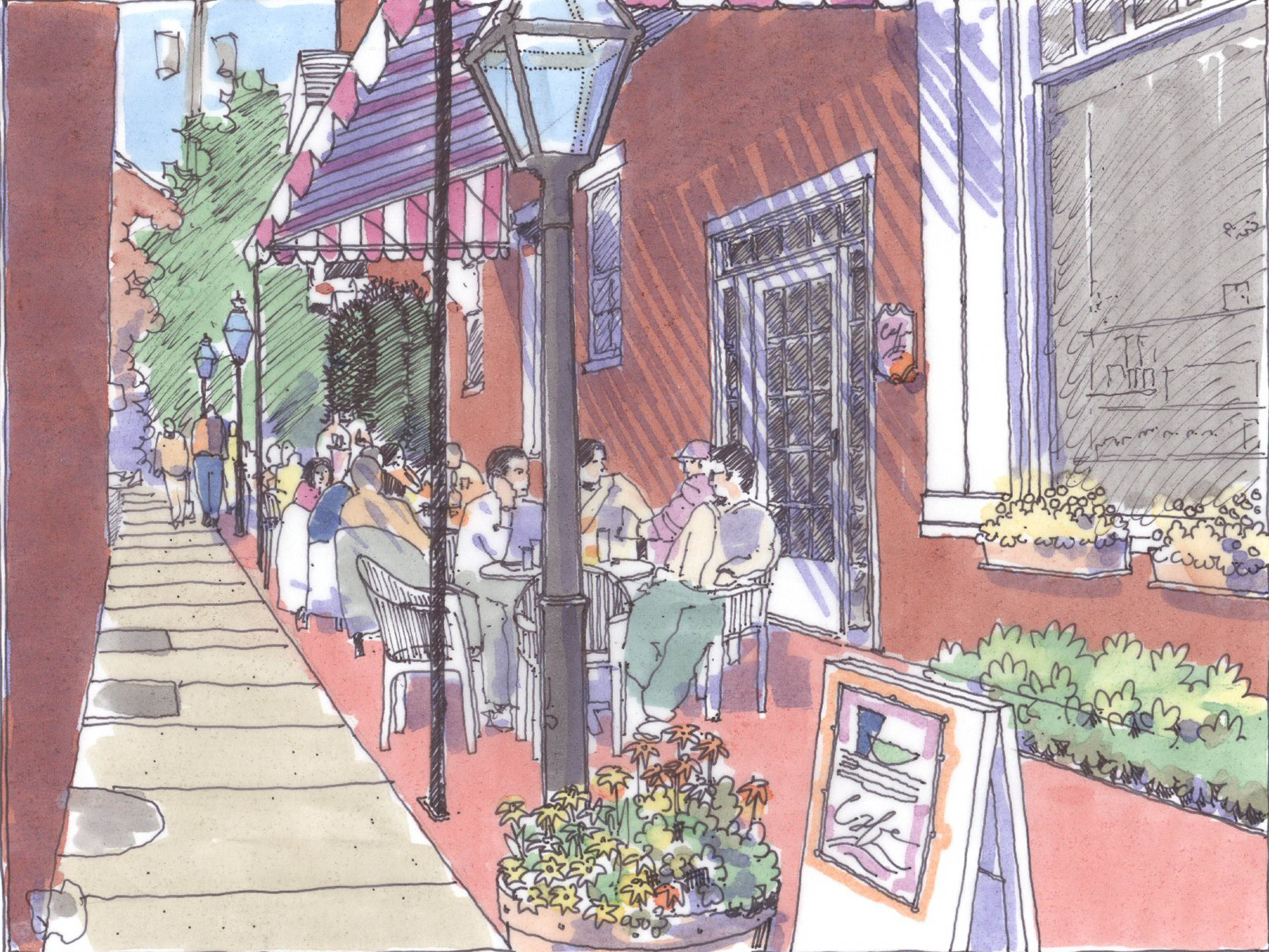 Lititz Downtown Master Plan Zum After