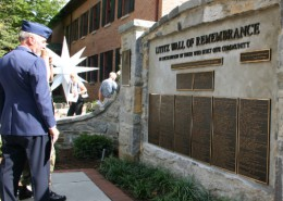 Lititz Wall of Remembrance Dedication Day