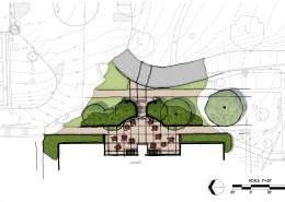Manhattanville College Library Plaza Concept