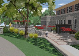Manhattanville College Library Rendering 2