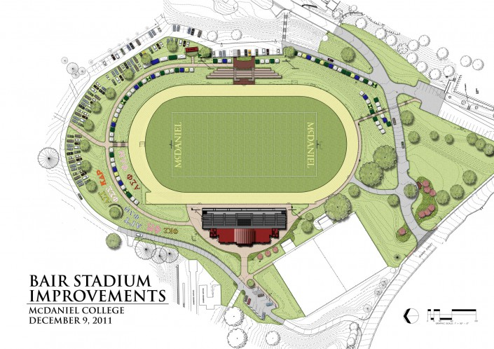 McDaniel College Stadium Plan